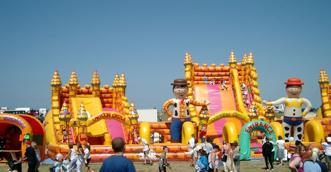 "The ""Church"" of the Bouncy Castle"